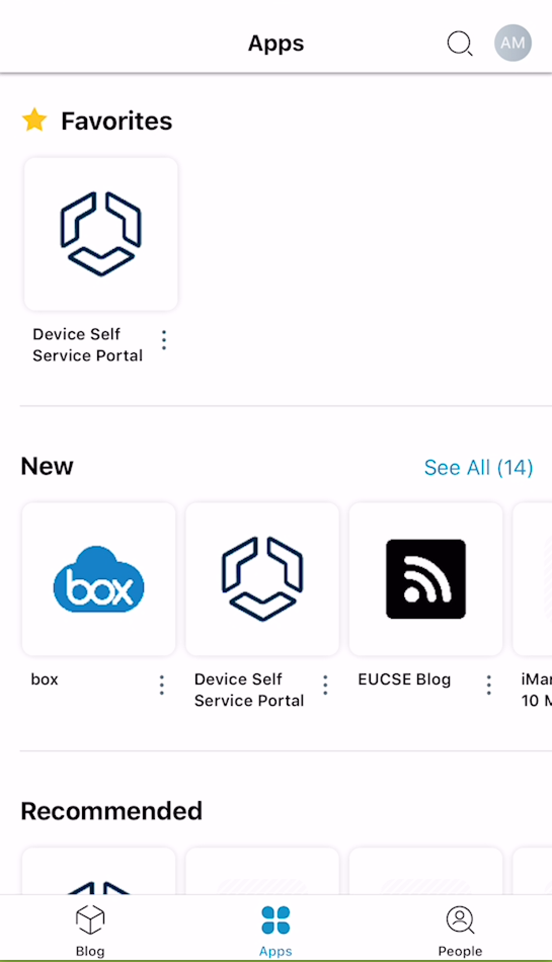 Enable Workspace ONE Intelligent Hub for SaaS and Native